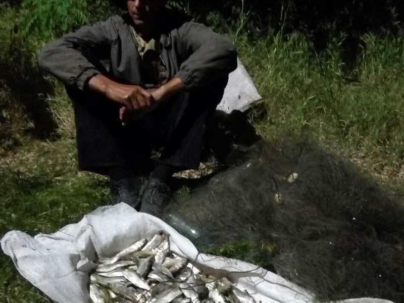 Только за ночь и утро сегодняшнего дня на Южной Буге в Николаевской области рыбоохранные патрульные задержали трех браконьеров