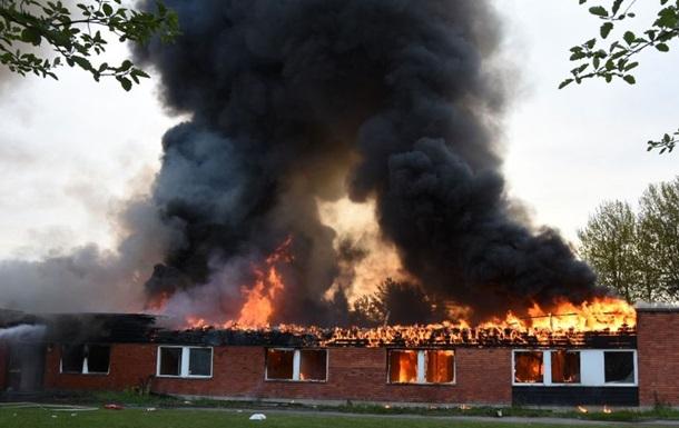 Пожар в приюте для беженцев в Швеции. Не исключают поджог