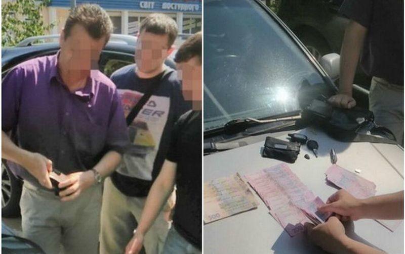 В Черкассах задержан подполковник СБУ, требовавший 75 тыс.грн. за возвращение изъятого ранее оборудования