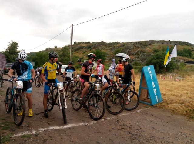 В Южноукраинске прошел 3-й велокросс-кантри «Бугские скалы»