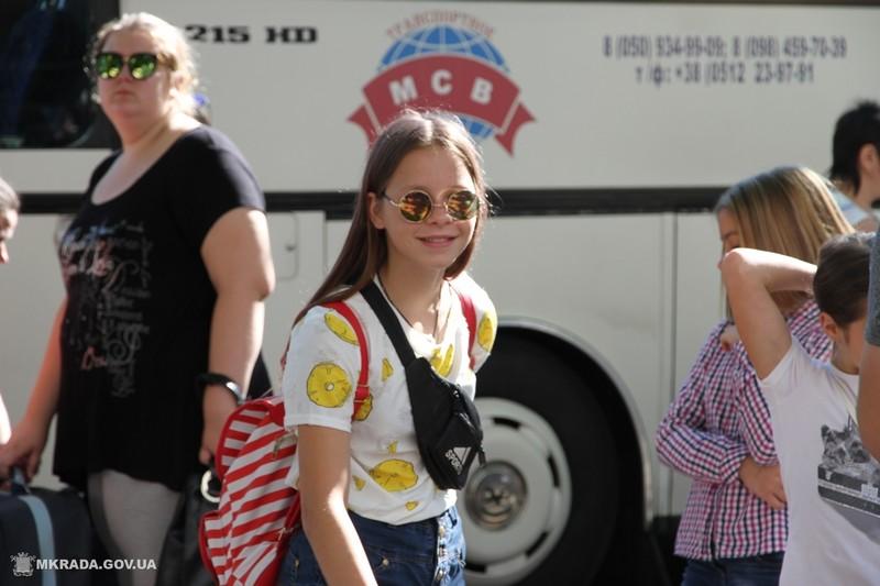 """Из Николаева на первую смену в лагерь """"Маяк"""" отправили рекордное количество детей"""