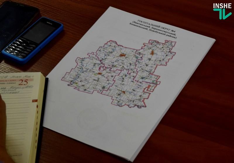 «В госпитальный округ №4 мы войдем только после того, как будет сделана дорога» — «бои» за госпитальные округа на Николаевщине продолжаются