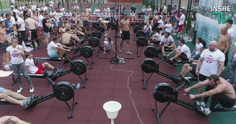 «Сухой заплыв на Ривьере»: в Николаеве прошли соревнования по гребле
