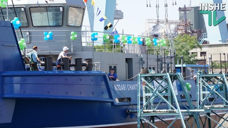 Третий директор. На судостроительном заводе «НИБУЛОН» спущено на воду судно «Нодари Чантурия»