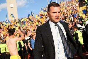 Шевченко провел 40-й матч во главе сборной Украины