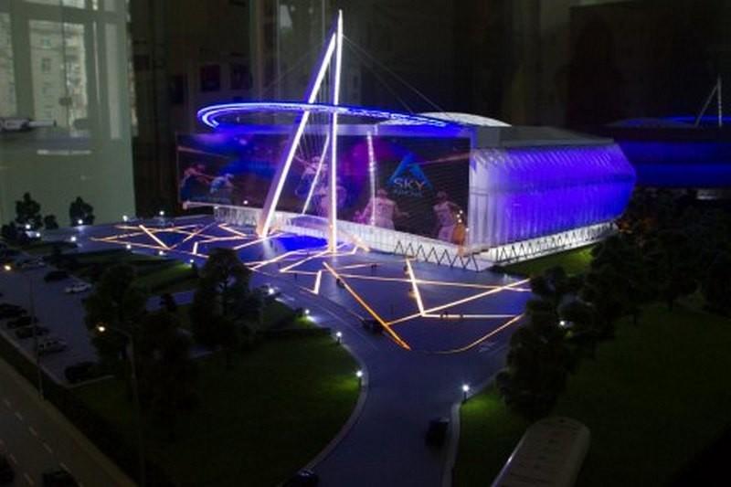 В Киеве построят новую концертно-спортивную арену-трансформер на 8000 мест