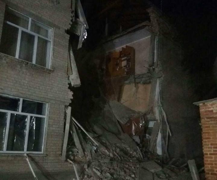 ЧП в Новом Буге: разрушилась часть Новобугской опорной школы №1