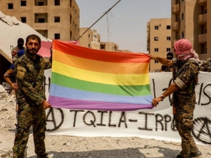 """В Сирии начала действовать """"Повстанческая освободительная армия гомосексуалистов"""""""