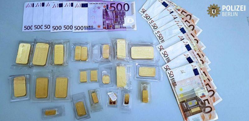 В столице Германии забывчивому велосипедисту вернули сумку с 1 кг золота и 3,5 тыс.евро