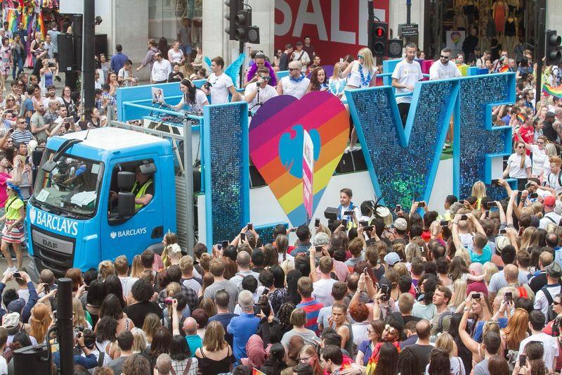 Pride in London собрал свыше 1,5 миллиона человек