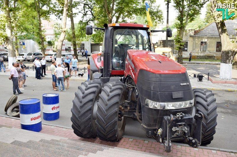 Повода пригонять трактор под ГУ ГФС не было – официальный комментарий николаевских налоговиков