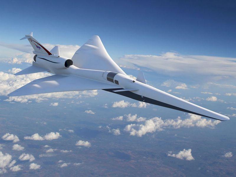 NASA разрабатывает прототип тихого сверхзвукового самолета