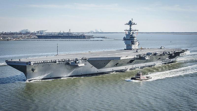 США впервые развернули две авианосные группы в Средиземном море
