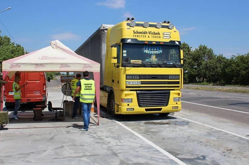 Служба автодорог Николаевской области рассказала, сколько она собрала штрафов за перевес грузовиков за 10 месяцев
