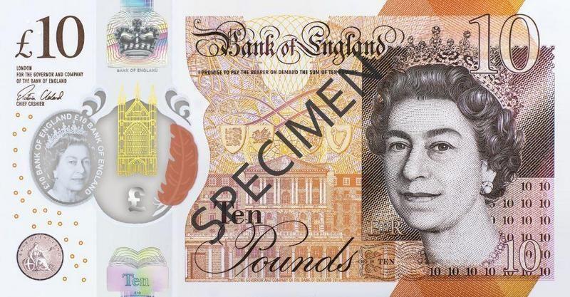Банкноты великобритании фото пенни блэк марка