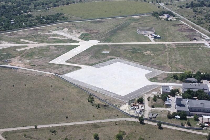 В Запорожье заработает современный вертодром