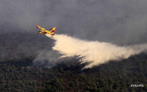 В Македонии уже две недели горят леса – в двух регионах введено ЧП