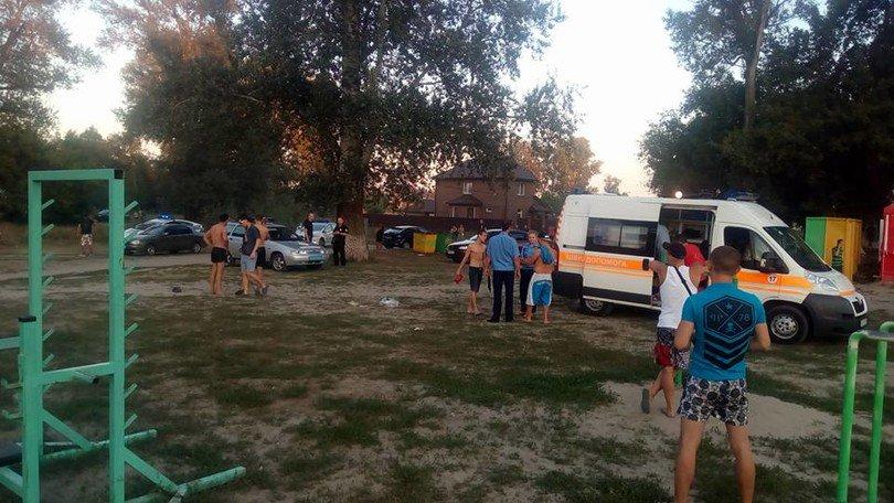 На береге вПолтаве произошла стрельба: умер человек, ранен ребенок