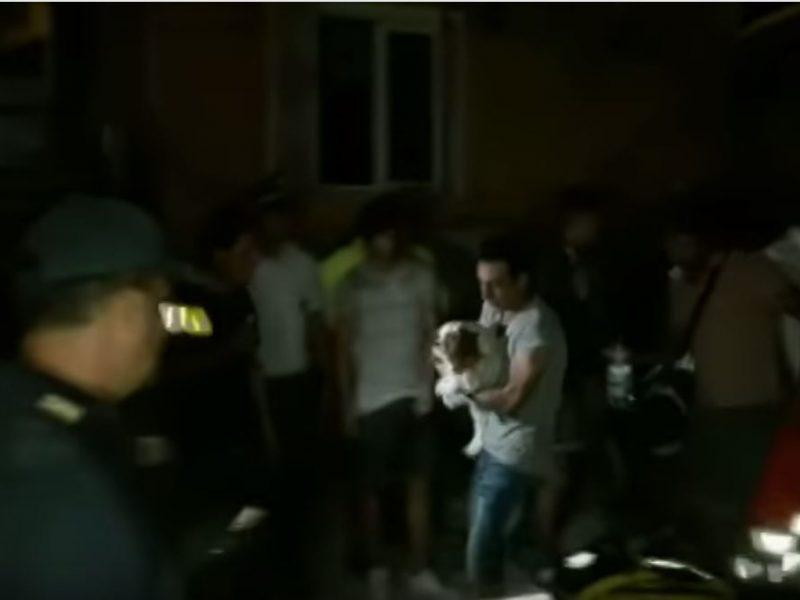 После землетрясения. В Италии из-под обломков спасли трех братьев, в том числе — 7-месячного младенца