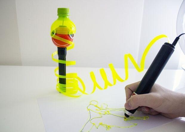 Дешевое сырье для 3D-ручек – у нас под ногами. Вторая жизнь пластиковых бутылок