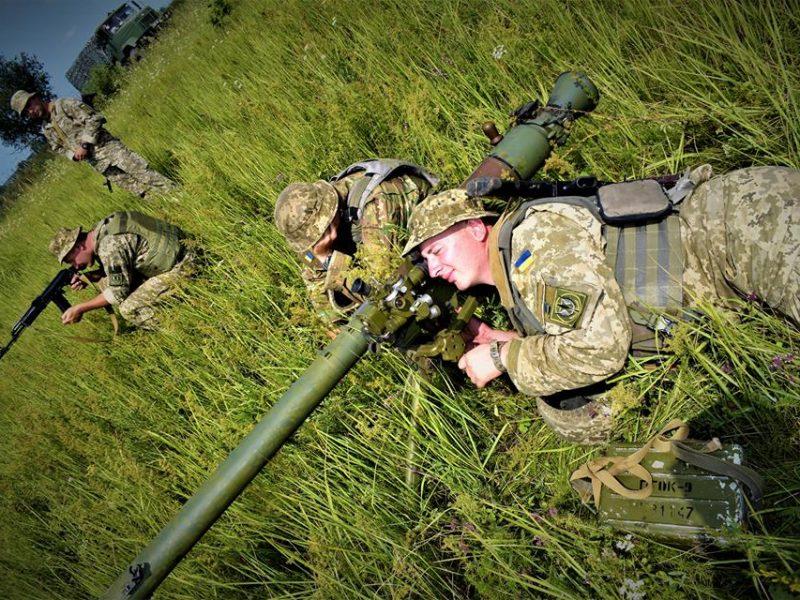 Николаевские морпехи приняли участие в батальонных тактических учениях