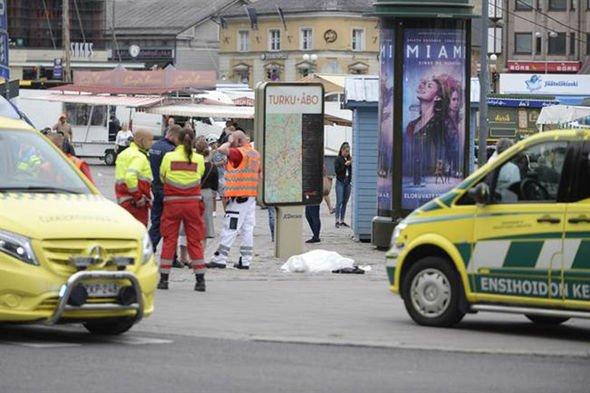 Нападение на прохожих в Финляндии: восемь человек получили ранения, двое из них скончались в больнице