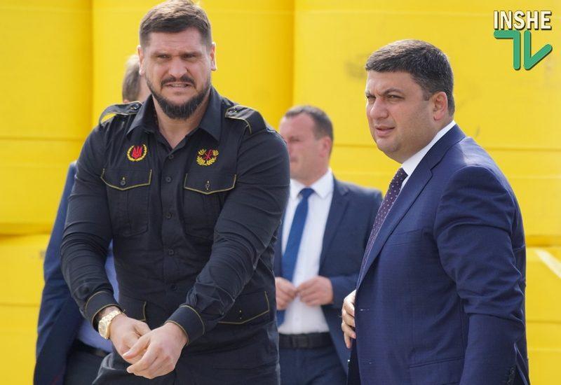 После визита в Николаевскую область Гройсман призвал вправить мозги чиновникам и контролерам