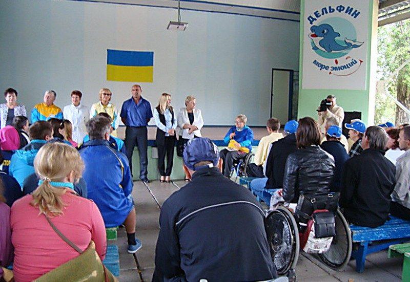 В Николаевской области состоялась VІІІ областная спартакиада среди людей с инвалидностью.