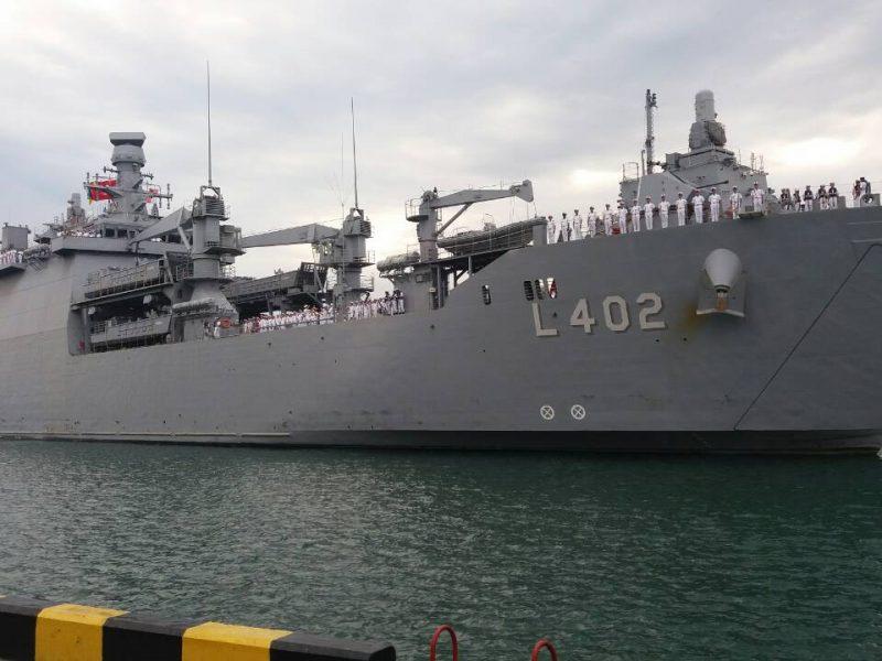 В Одессу зашел турецкий БДК «Байрактар»