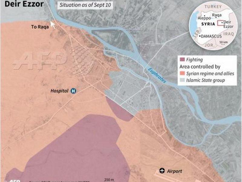 Россияне убили 34 мирных жителя Сирии, в том числе детей, около города Дейр-эз-Зора на востоке страны