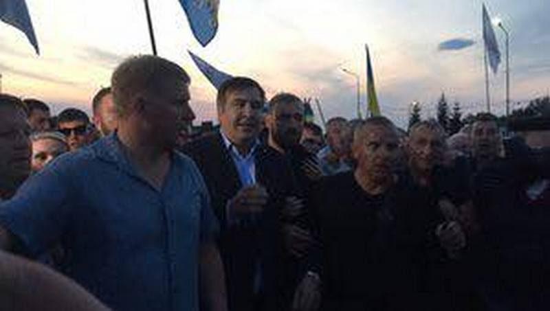 Прорыв Госграницы в ПП «Шегини» «Рухом нових сил» Саакашвили: 17 правоохранителей пострадало, Генпрокурор говорит об уничтожении государства