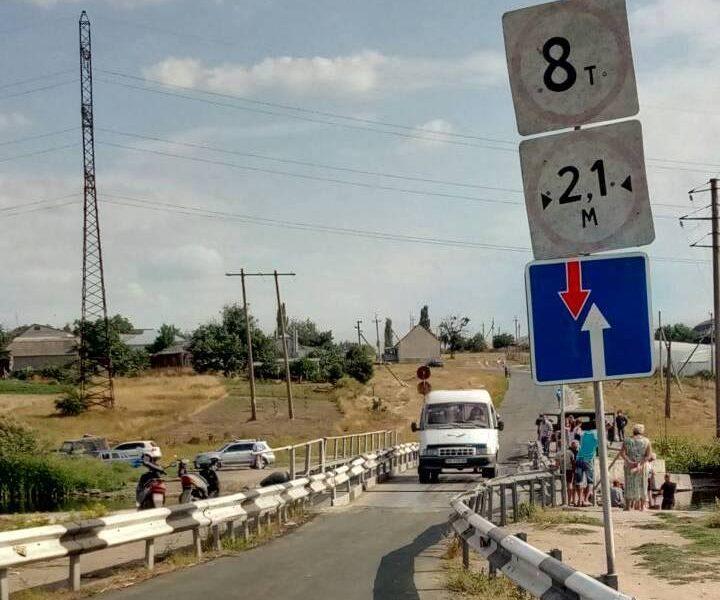 Обрушенный фурой в Пересадовке мост восстановлен – САД в Николаевской области требует наказать виновных в инциденте