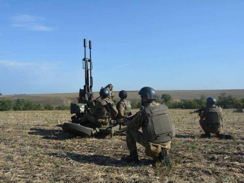 Николаевские десантники продолжают обучение резервистов: действия расчета зенитной установки должны быть четкими