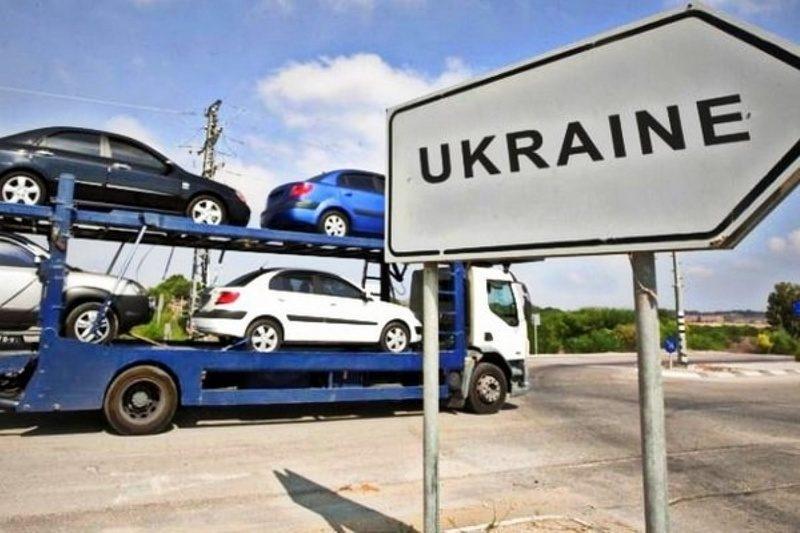 В Украине незаконно находится почти 64 тысячи авто с иностранными номерами