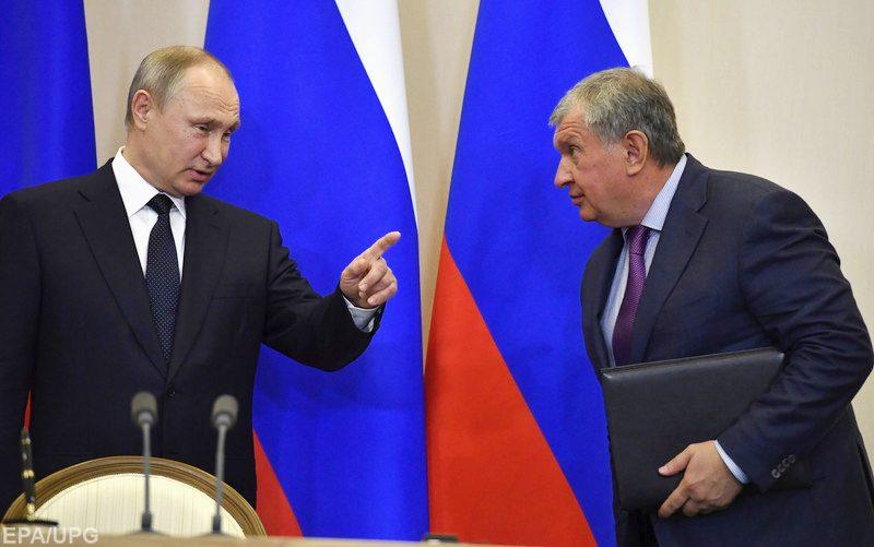 Президентские выборы в РФ. Американская разведка ставит на Сечина?