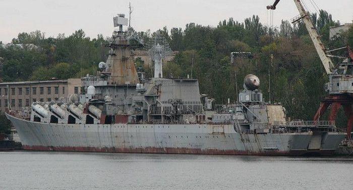 Работники завода имени 61 коммунара о недостроенном крейсере «Украина»: «Нужно либо его продать, либо разобрать на запчасти»