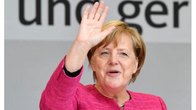 Меркель уходит с поста главы Христианско-демократического союза