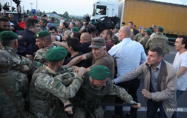 Силовики задержали 5 участников «прорыва Саакашвили»