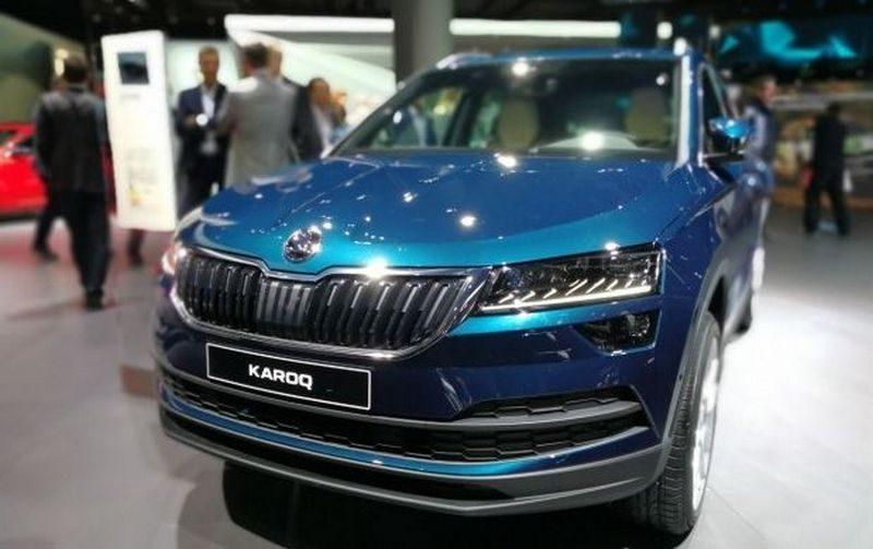 В Украине будут выпускать автомобиль Škoda Karoq