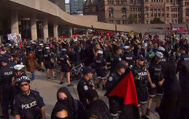 Столкновения в столице Канады на идеологической почве: один человек ранен, четверо задержаны полицией