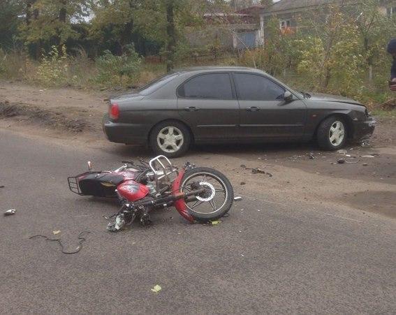 В Первомайске мопед был сбит легковушкой – водитель мопеда погиб