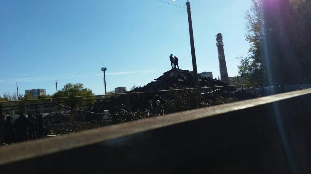 ТРЦ вОдессе пообещал восстановить забор воинской части после окончания строительства