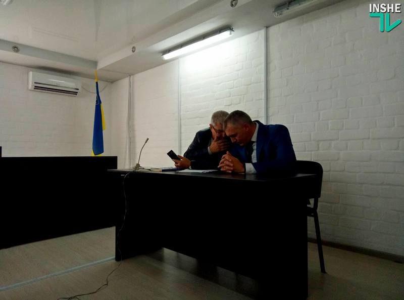 По делу Сенкевича заслушали показания его зама по финансам и бывшего главу аппарата Николаевского горсовета
