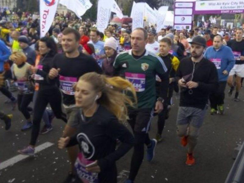 В Киеве во время международного марафона умер бегун