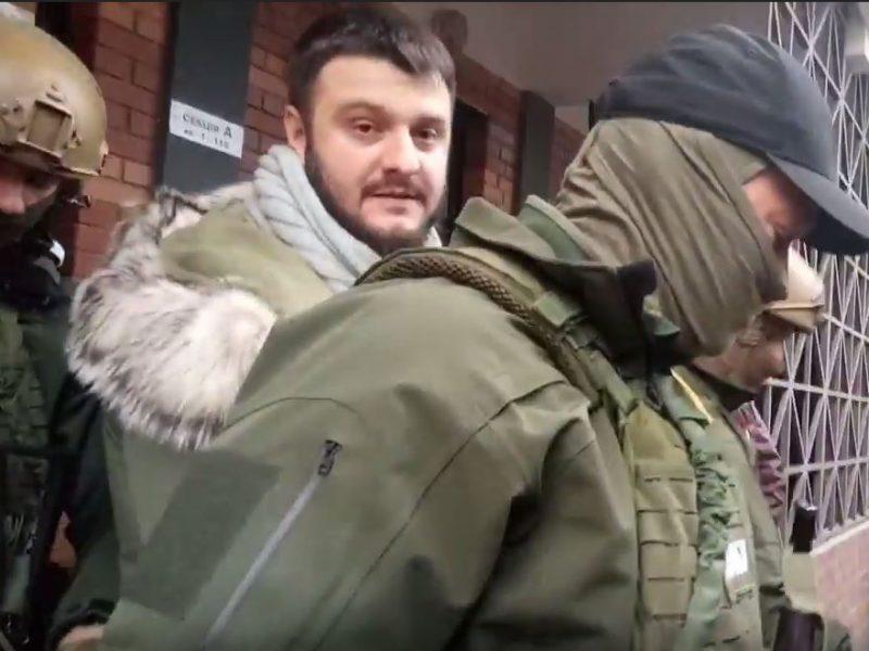 """Сына Авакова доставили в НАБУ, а в МВД заявили, что в """"деле о рюкзаках"""" все чисто"""