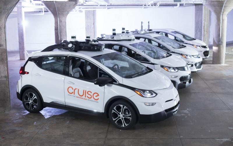 Беспилотный автомобиль Cruise привлек $2 млрд инвестиций от Microsoft, GM и Honda