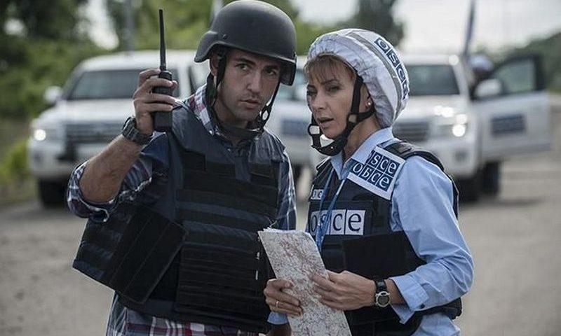 Боевики заблокировали наблюдателей ОБСЕ на ППБ в Горловке 3