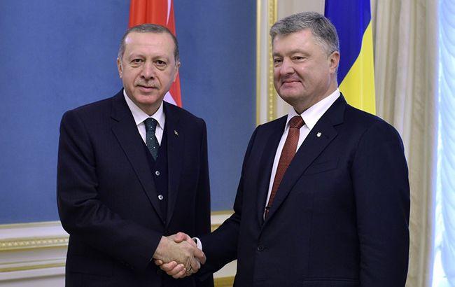 В Стамбуле началась встреча президентов Порошенко и Эрдогана