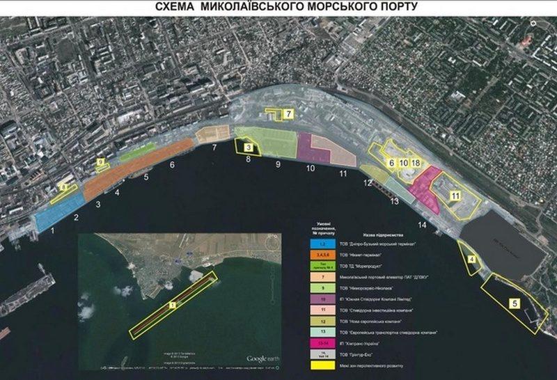 Тендер на строительство причала №8 в Николаевском порту за 300 млн. выиграла фирма с уставным капиталом в одну тысячу гривень