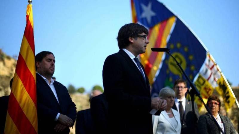 Беглый лидер Каталонии Пучдемон объявил об избирательной кампании из убежища в Бельгии